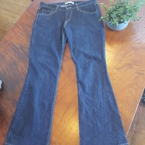 Levi Straus boot cut jeans